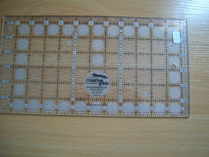 Linjal Creative grids 12,5 x 6,5 inch