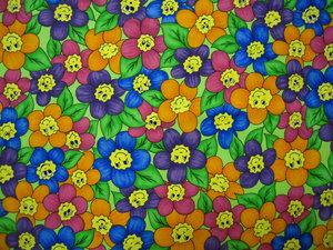 glada blommor